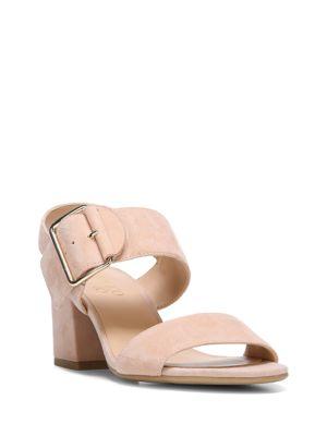 Morgan Wrapped Suede Sandals by Franco Sarto