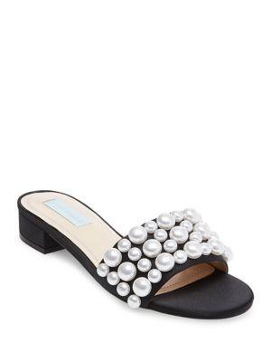 Poppy Slide-On Sandals by Betsey Johnson