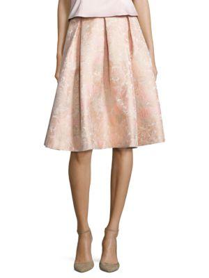 Jacquard Knit Skirt by Eliza J
