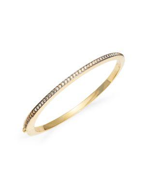 Crystal Pave Bangle Bracelet...