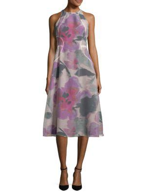 Floral Print A-Line Dress by RACHEL Rachel Roy