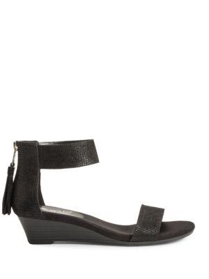 Yetroactive Open-Toe Wedge Sandals by Aerosoles