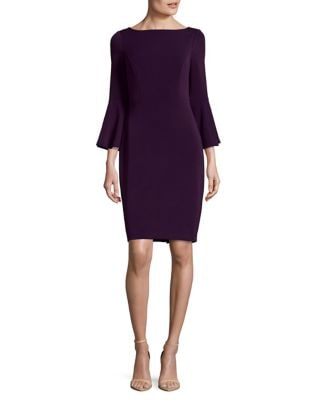 Bell-Sleeve Sheath Dress by Vince Camuto