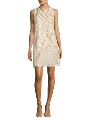 Knee Length Dress by Belle Badgley Mischka