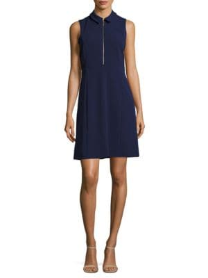Collared A-Line Dress by Ivanka Trump