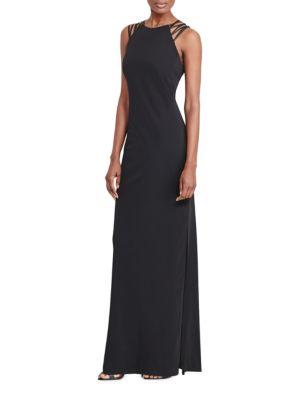 Zippered Sleeveless Dress by Lauren Ralph Lauren