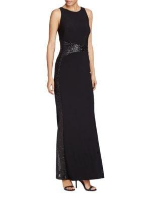 Sequin Jersey Gown by Lauren Ralph Lauren