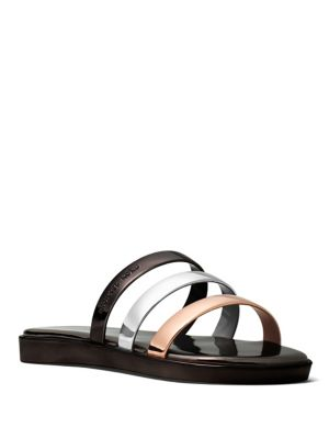Keiko Slide Slip-On Flat Sandals by MICHAEL MICHAEL KORS