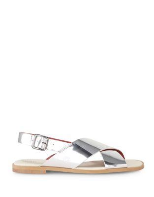 Metallic Leather Sandals by Liebeskind Berlin