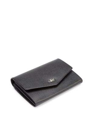 New York RFID Blocking Saffiano Leather French Purse Wallet (Handbags) photo