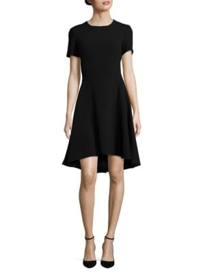 Textured Hi-Lo Dress by DKNY