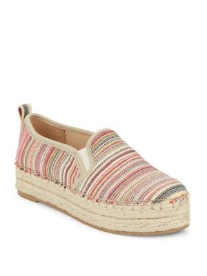 Carrin Striped Espadrille Slip-Ons by Sam Edelman
