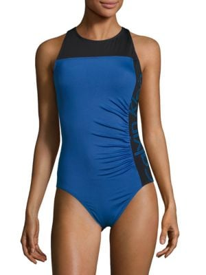 Ruched One-Piece Swimsuit by La Blanca