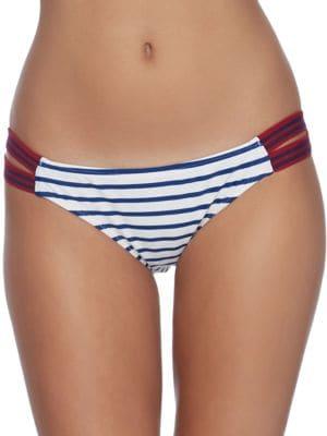 Samana Stripe Flirty Surf Rider Bottoms by Body Glove