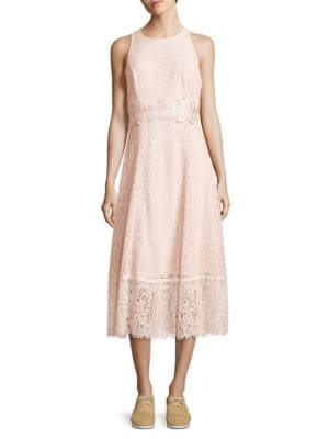 Lace Midi Dress – Vogue 125 Rose Collection by Karl Lagerfeld Paris
