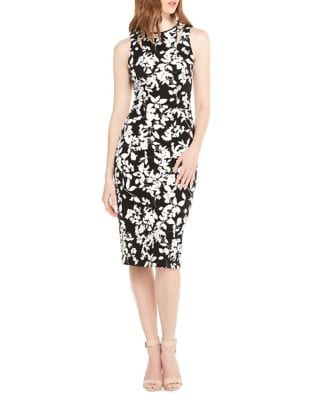 Floral Midi Sheath Dress by Maggy London