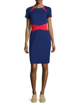 Two-Tone Dress by Nue By Shani