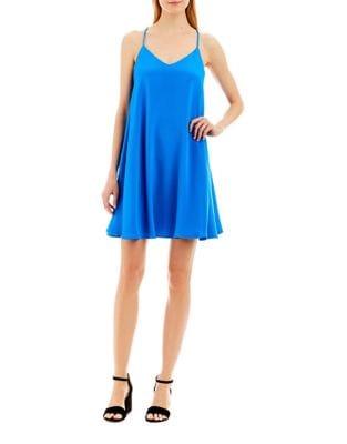 Racerback Trapeze Slip Dress by Nicole Miller New York