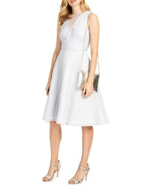 Franchesca Fit-and-Flare Dress by Phase Eight