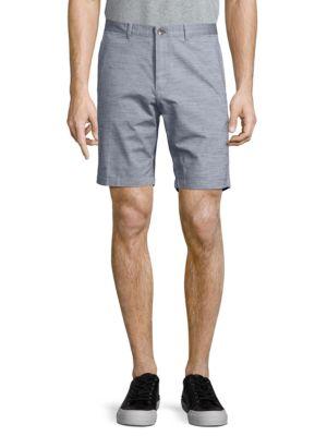 Buttoned Cotton Shorts...