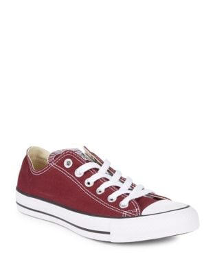 Lace-Up Low-Top Sneakers by Converse