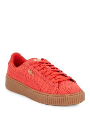 Basket Low Top Sneakers by PUMA