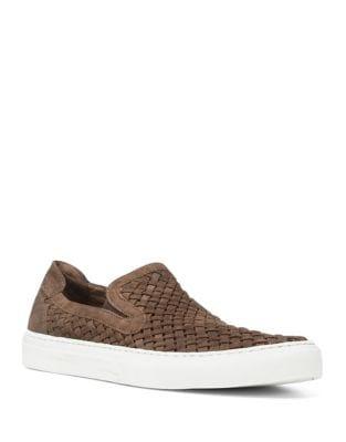 Woven Slip On Sneaker...