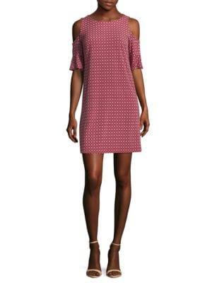 Cold Shoulder Dress by Donna Morgan