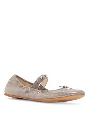 Prilla Gryle Leather Ballet Flats by Vince Camuto