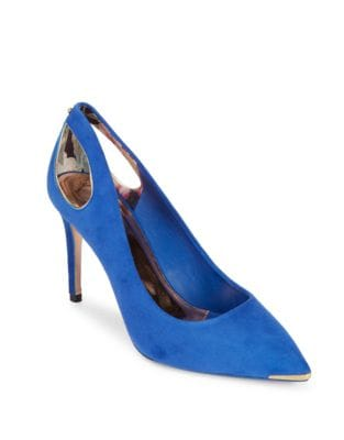Jesamin Suede Point Toe Pumps by Ted Baker London