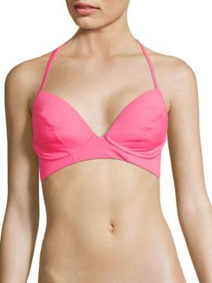Underwire Halter Bikini Top by Coco Rave