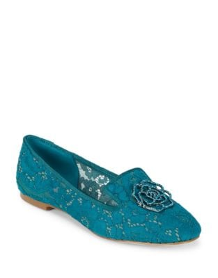 Hana2 Lace Loafers by Karl Lagerfeld Paris