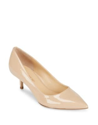Athyna Leather Closed Toe Pumps by Ivanka Trump