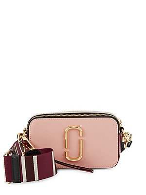 3a97a98e6196 Marc Jacobs - Snapshot Leather Camera Bag - lordandtaylor.com