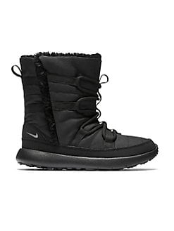 d2eccb8b9859 Kid s Faux Fur-Lined Boots BLACK. Product image