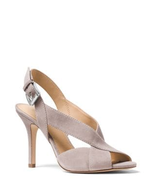 Becky Suede Slingback Pumps by MICHAEL MICHAEL KORS