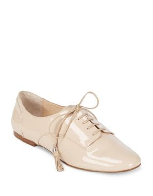 Caia Patent Leather Oxfords...