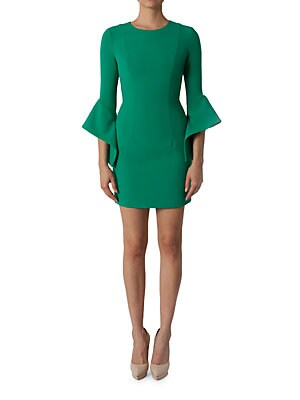 5cd02e65f4 Black Halo - Lorie Bell Sleeve Mini Dress - lordandtaylor.com