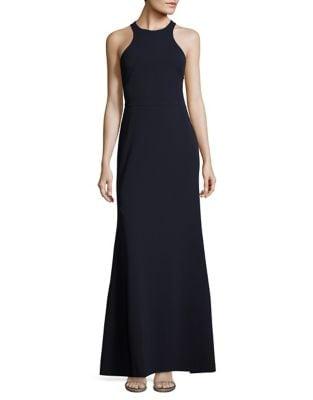 Cutaway Long Gown by Vera Wang