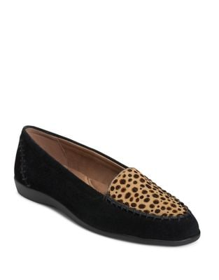 Trending Moc-Toe Suede Loafers by Aerosoles