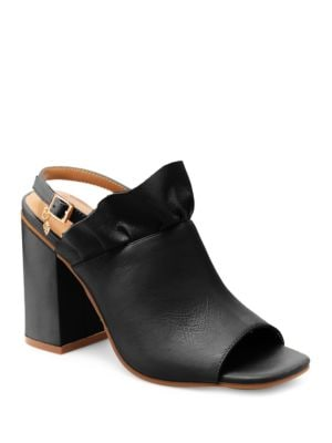 Madeline Leather Mules by Nanette By Nanette Lepore