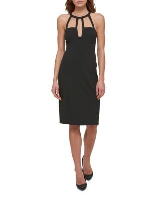 Cutout Halter Dress by Guess