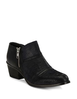 Farren Leather Ankle Booties by Charles by Charles David