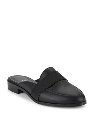 Georgi Faux Leather Mules by Charles by Charles David