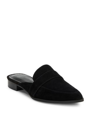 Emma Pointy Flat Suede Loafers by Charles by Charles David
