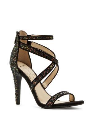 Ellenie Metallic Sandals by Jessica Simpson