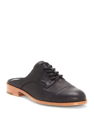 Fea Leather Lace-Up Mules by 1.STATE