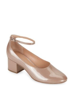 Kairos Patent Leather Ankle Strap Pump by Sigerson Morrison