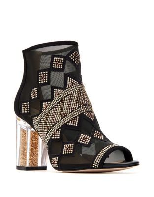 Nakano Embellished Mesh Booties by Katy Perry