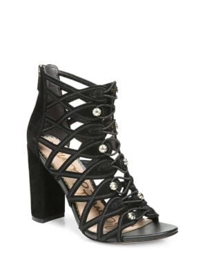 Yeager Leather Open Toe Sandals by Sam Edelman